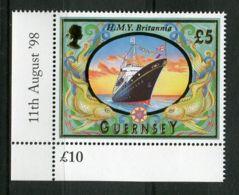 GRANDE-BRETAGNE- ILE  DE  GUERNESEY : Y&T N° 795  TIMBRE  NEUF  SANS  TRACE  DE  CHARNIERE . - Guernsey