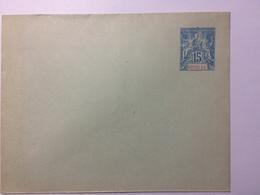 NOSSI-BE - Unused Postal Stationary Envelope 15 Centimes - Nossi-Bé (1889-1901)