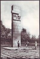 """VITEBSK, BELARUS (USSR, 1972). MONUMENT STELA """"ETERNAL GLORY TO THE HEROES"""", WWII. Original Photo Postcard - Belarus"""