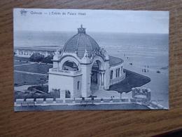 Oostende-Ostende / L'Entrée Du Palace Hotel --> Beschreven - Oostende