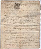 VP13.459 - SAINT CHEF - Acte An 6 Concernant Le Citoyen Antoine GUINET à CREISSES - Manuscripts