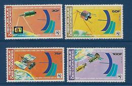 """Comores YT 225 à 228 """" Télécommunications """" 1978 Neuf** - Comores (1975-...)"""