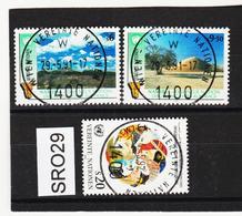 SRO29 VEREINTE NATIONEN UNO WIEN 1991 Michl 114/16 Used / Gestempelt - Wien - Internationales Zentrum