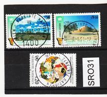 SRO31 VEREINTE NATIONEN UNO WIEN 1991 Michl 114/16 Used / Gestempelt - Wien - Internationales Zentrum