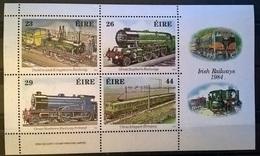 IRLANDA 1985 FERROVIE - 1949-... Repubblica D'Irlanda