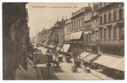 CPA Usagée - Le Cours De L'Intendance - Bordeaux