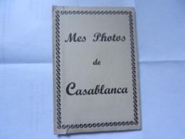 CARNET DE 10 VUES  MES PHOTOS DE CASABLANCA - Casablanca