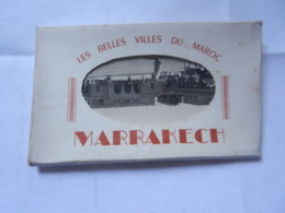 CARNET DE 10 VUES  LES BELLES VILLES DU MAROC MARRAKECH - Marrakech