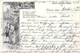 Gruß Aus Stettin 1904 AKS 1904 - Gruss Aus.../ Grüsse Aus...