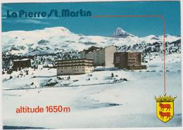 Pyrénées  Atlantique :  LA  PIERRE  ST  MARTIN : Vue  1981 - Francia