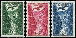 ** ANDORRE PA 2/4 : Aigle Et Vallée, TB - Poste Aérienne