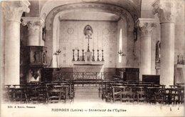 42 - RIORGES --  Intérieur De L'Eglise - Riorges