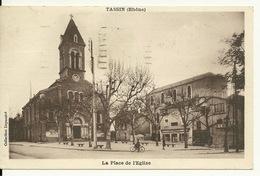 69 - TASSIN / LA PLACE DE L'EGLISE - Frankrijk
