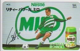 FOOTBALL - JAPAN-007 - PIERRE LITTBARSKI - GERMANY RELATED - NESTLÉ - Sport