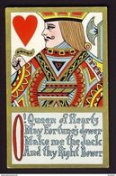 JACK Of Hearts Playing Card Postcard - Playing Cards