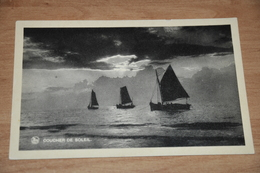 6276-   COUCHER DE SOLEIL, PHOTO EDM. DUBOIS, LA  PANNE - De Panne