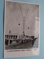 2me EXPOSITION Int. Technique Et Industrie De CHARLEROI ( Edit. Best ) Anno 1955 ( Voir Photo Svp ) ! - Charleroi