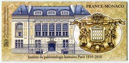 RC 10524 EMISSIONS COMMUNES 2010 FRANCE - MONACO PALÉONTOLOGIE NEUF **  TB - Gemeinschaftsausgaben