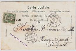 1901, Selt. L1 A. Pass. Litho! , #a1424 - 1882-1906 Armarios, Helvetia De Pie & UPU