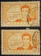 1939 France (ex-colonies & Protectorats) > A.O.F. Mi:SN 181, Sn:SN 188, Yt:SN 150 . Rene Caillie - Oblitérés