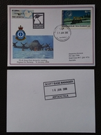 New Zealand 2006 Scott Base Antarctica Cover - Timbres