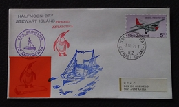 New Zealand 1974 Antarctica Cover - Timbres
