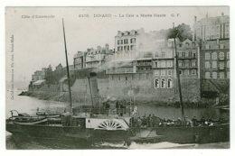 35 - B4675CPA - DINARD - La Cale à Marée Haute (Vapeur) - Parfait état - ILLE-ET-VILAINE - Dinard