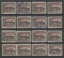 MiNr. 236 Guatemala, 1929, 20. Mai. Freimarken: Nationale Symbole. MiNr. 216 Mit Karminrotem Vierzeiligen Aufdruck - Guatemala