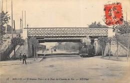 38 CP( SNCF: Melun+Le Molay-Littry+Berjou+Cachet Gare)+ Marché+Milit+Fant+Inond+Folk+Poulbot.Voir Les Scans... N°79 - Cartes Postales