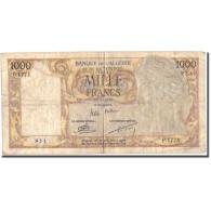 Billet, Algeria, 1000 Francs, 1956, 1956-03-20, KM:107b, TB - Algérie