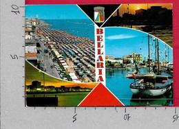 CARTOLINA VG ITALIA - BELLARIA (RN) - Vedutine Multivue - 10 X 15- - ANN. 1972 - Rimini