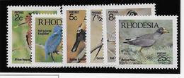 Rhodésie Du Sud N°202/207 - Oiseaux - Neufs ** Sans Charnière - TB - Timbres