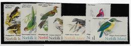 Norfolk Island N°116/122 - Oiseaux - Neufs ** Sans Charnière - TB - Ile Norfolk