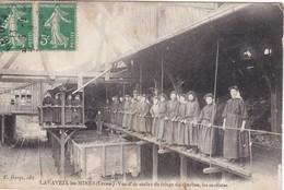 LAVAVEIX Les-Mines - Vue D'un Atelier Du Triage Du Charbon, Les Modistes - Peu Fréquent - Other Municipalities