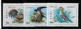 Iran N°1364/1366 - Oiseaux - Neufs ** Sans Charnière - TB - Iran