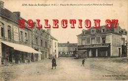 35 ☺♦♦ BAIN De BRETAGNE - HOTEL Du CROISSANT BRAY Et NOUVEAUTES MARGAT BAUDIN Sur La PLACE St MARTIN - Frankreich