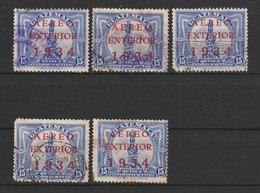 MiNr. 274 Guatemala, 1934, 7. Aug. Flugpostmarken Für Den Auslandsverkehr. MiNr. 225 Und 227 Mit Dreizeiligem Aufdruck A - Guatemala