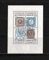 1975 Denmark → Hafnia 76 Philatelic Exhibition Miniature Sheet - Danemark