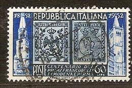 Italie Italia 1952 Yvertn° 628 (o) Oblitéré Cote 9 Euro - 1946-60: Oblitérés