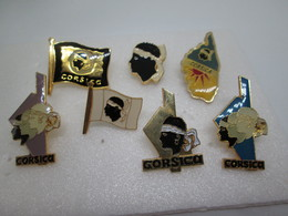 PIN'S    LOT 7 CORSE - Steden