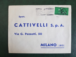 (3937) ITALIA STORIA POSTALE 1962 - 1961-70: Marcophilia
