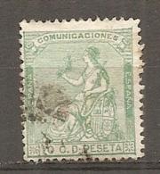 1873   Yv. N° 132    (o)  10c   République   Cote  0,45 Euro   BE   2 Scans - Oblitérés