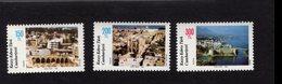 672550057 TURKISH CYPRUS 1988 POSTFRIS MINT NEVER HINGED POSTFRISCH EINWANDFREI SCOTT 224 226 TOURISM LANDSCAPES - Chypre (Turquie)