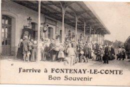 Fontenay Le Comte : J'arrive, Bon Souvenir - Fontenay Le Comte
