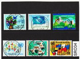 SRO34 VEREINTE NATIONEN UNO WIEN 1979 Michl 1/6 Used / Gestempelt - Wien - Internationales Zentrum