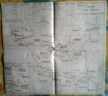 """Carte """" FRANCE Moyens D'Atterissage"""" Section Des Instructions Aéronautiques 15.11.1950 [Q]_M296 - Aviation"""