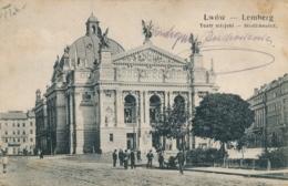 Ukraine - Lwów - Lemberg - Teatr Miejski - Ukraine