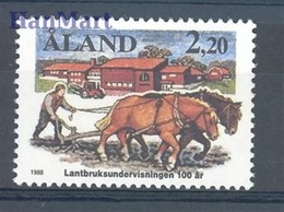 Aland 1988 Mi 27 MNH ( ZE3 ALN27 ) - Horses