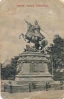Ukraine - Lwów - Lemberg - Pomnik Sobieskiego - Ukraine