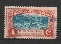 MiNr. 276 Guatemala, 1935, 19. Juli. 100. Geburtstag Von General Justo Rufino Barrios (1835-1885), Präsident Der Republi - Guatemala